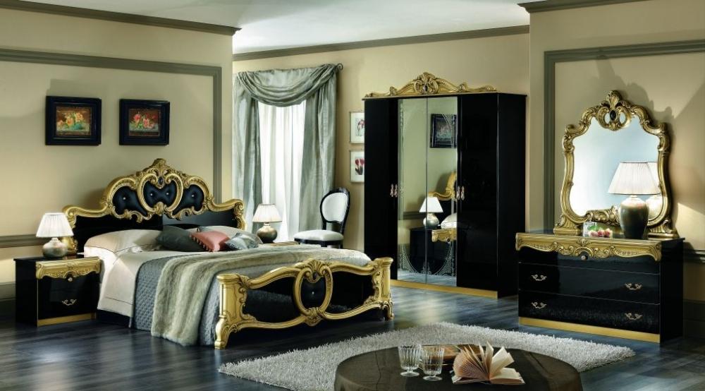chambre coucher italienne barocco