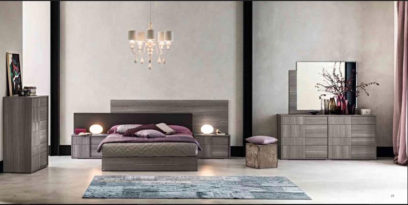 Chambre à Coucher Italienne FUTURA Grey