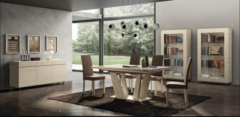 Table salle à manger de design italien en 27 idées exclusives